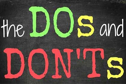 Marketing video production- Do's and Don'ts