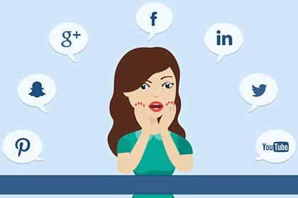 Shocking points of social media about marketing